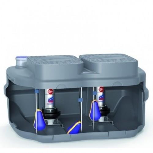 Дренажна система накопичення і підйому Pedrollo SAR 550-RXm 4/40