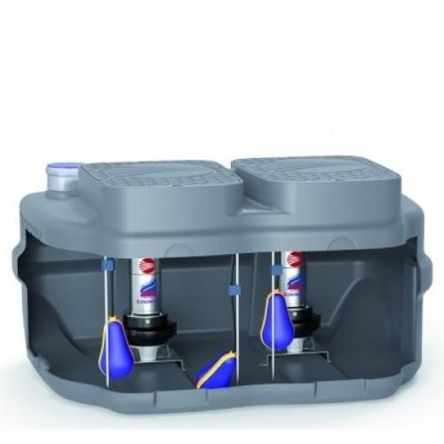 Дренажна система накопичення і підйому Pedrollo SAR 550-RXm 5/40
