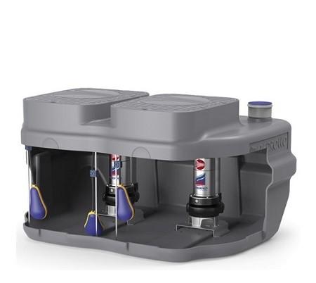 Дренажна система накопичення і підйому Pedrollo SAR 550-VXm 10/50