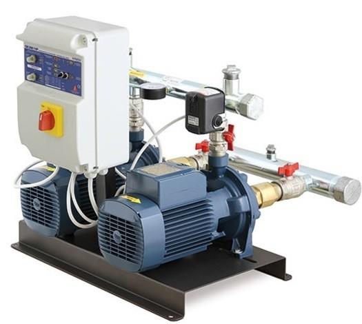 Установка повышения давления Pedrollo CB2-2CP 25/130N (SIRIO) (KC2CT13A)