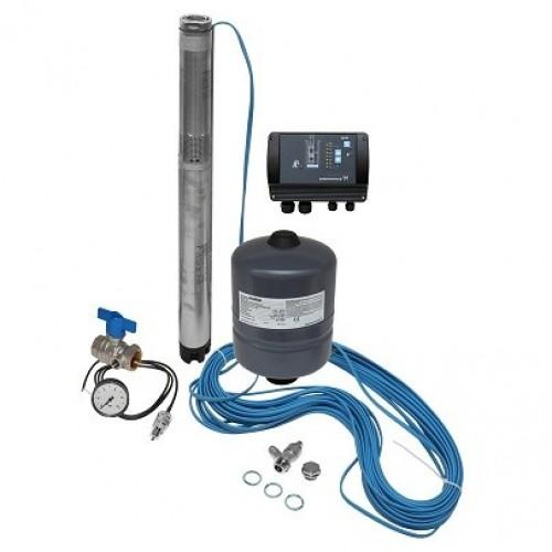 Комплект поддержания постоянного давления с глубинным насосом Grundfos SQE 1-50 (96510141)