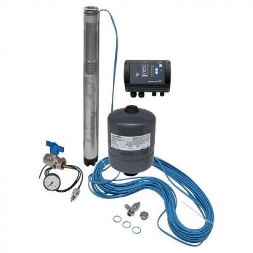 Комплект поддержания постоянного давления с глубинным насосом Grundfos SQE 1-80 (96510143)