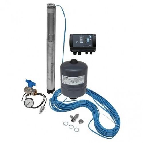 Комплект поддержания постоянного давления с глубинным насосом Grundfos SQE 1-95 (96510144)