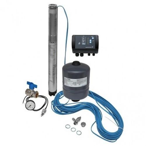 Комплект поддержания постоянного давления с глубинным насосом Grundfos SQE 1-110 (96510145)