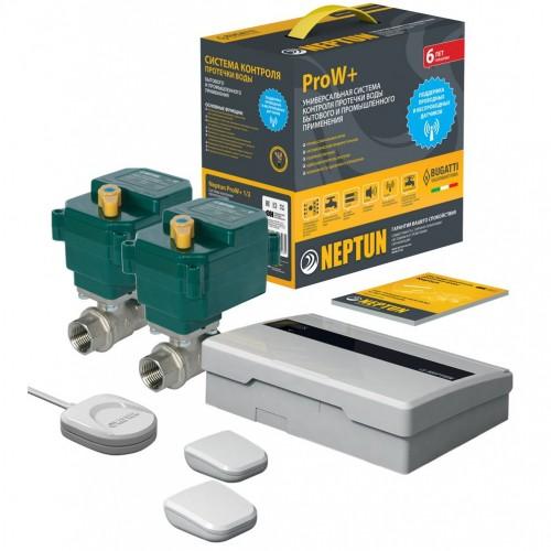Защита от протечек Neptun Bugatti ProW+ 1/2