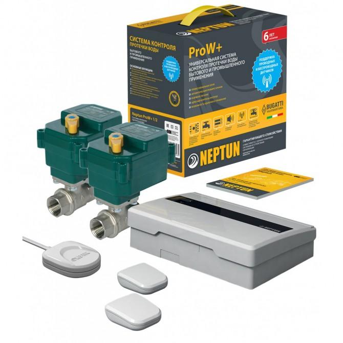 Защита от протечек Neptun Bugatti ProW+ 3/4